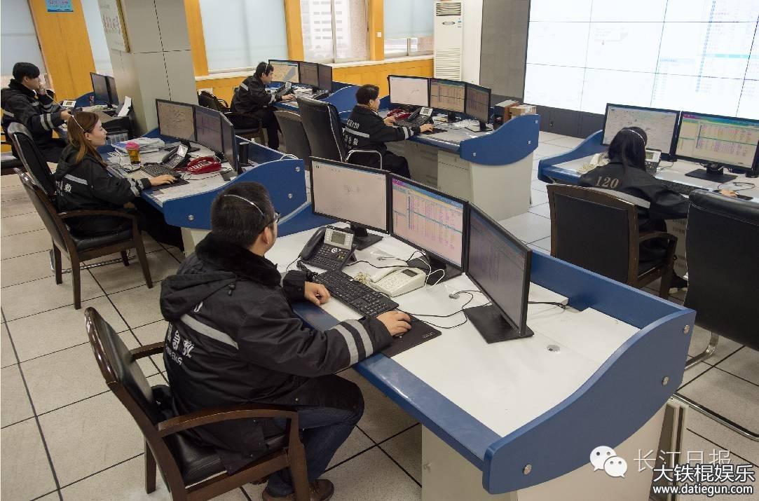 位于汉口精武路的武汉市急救中心120指挥中心