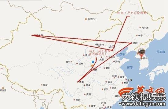 中国一带一路路线图