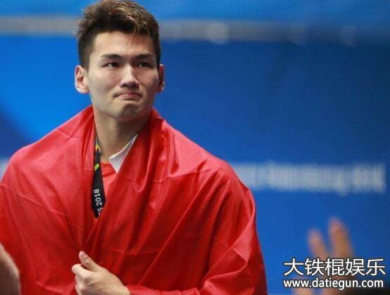 徐嘉余哭了:2018年雅加达亚运会游泳比赛结束了首日较量